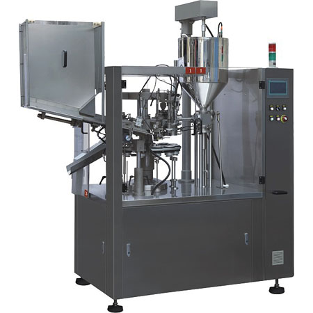 Fully automatic tubo filling & sealing machine ( NF-80A )