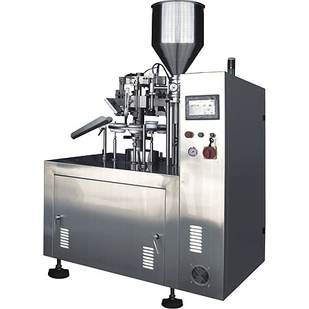 Semi-automatic tubo filling & sealing machine ( NF-60 )