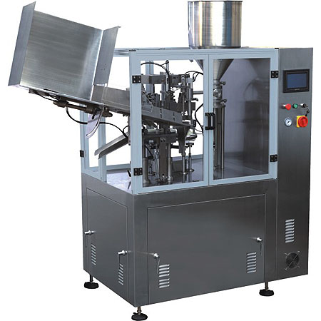 Fully automatic aluminum tubo filling & sealing machine ( NF-60Z )