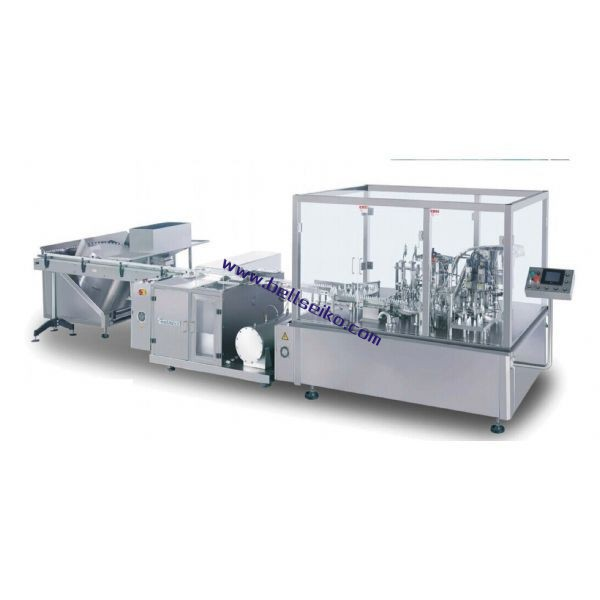 YG4_2_100 Eyedrop Aseptic Filling Production Line